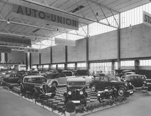 In 1933 toont Auto Union het volledige aanbod op de tentoonstelling in Mannheim.