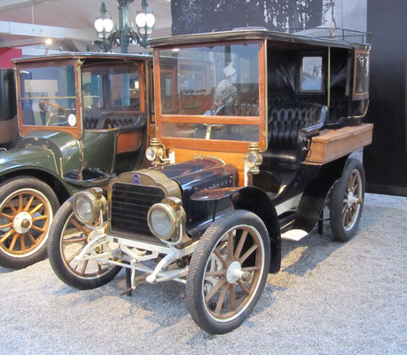 Mors Tonneau Fermé Type N uit 1910 (Collection Schlumpf).