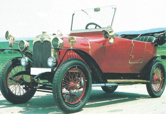Wanderer 3/15 uit 1914.