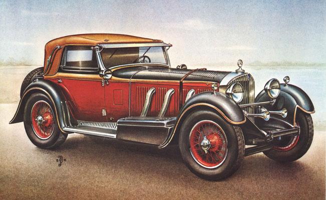 Mercedes SSK, 1929.
