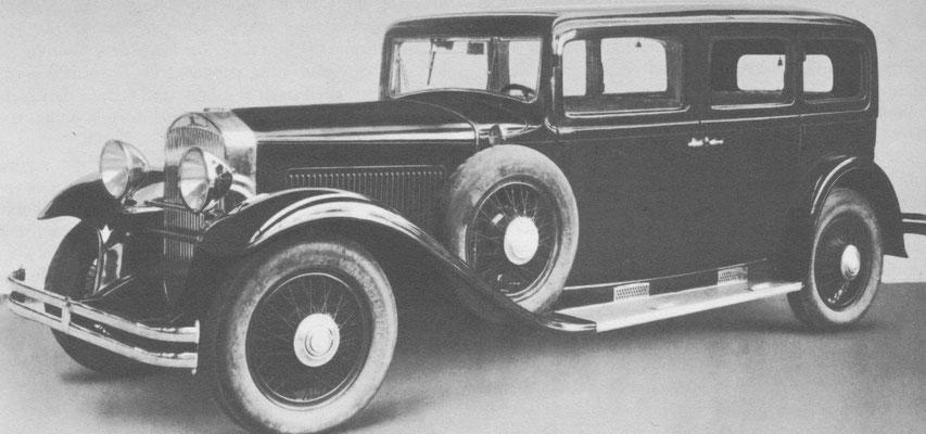 Martini NF 6 uit 1931 / 1932, een zescilinder als representatieve Pullman-Limousine.