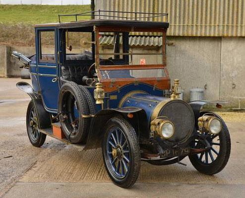 Delaunay Bellville HB6 Limousine Landaulette uit 1911.