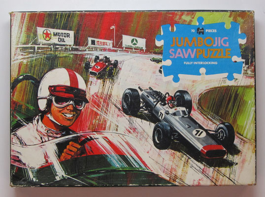 Puzzle van Jumbo, Formule 1 race.
