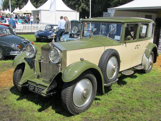 Rolls-Royce Phantom II Connaught Limousine uit 1931. (Concours d'Élégance 2016 op Paleis Het Loo in Apeldoorn)