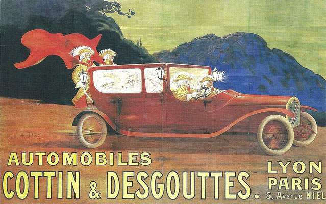 Een affiche van Cottin & Desgouttes.