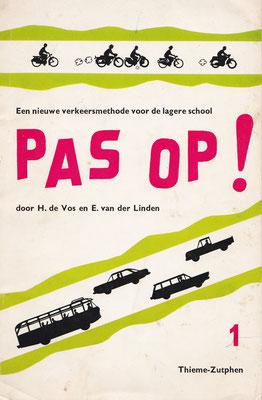 Boekje voor verkeersonderwijs op de lagere school.
