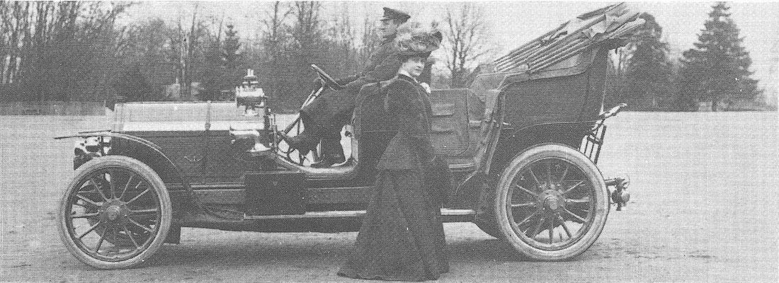 Een Lorraine Dietrich uit 1901.
