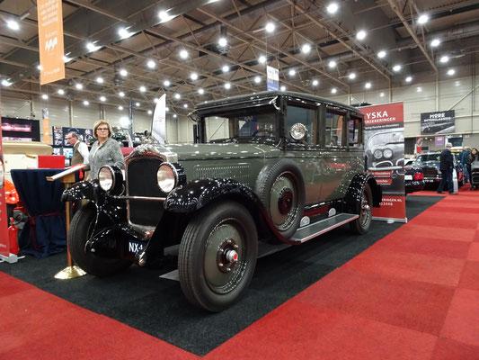 Opel 10-40 PS Pullman Limousine uit 1928. (Interclassics Maastricht 2020)