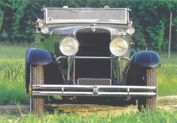 Nash Twin Ignition Six Cabriolet Spider 481 uit 1930.