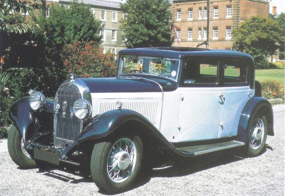Een Hotchkiss AM 80 S (1929-1954).