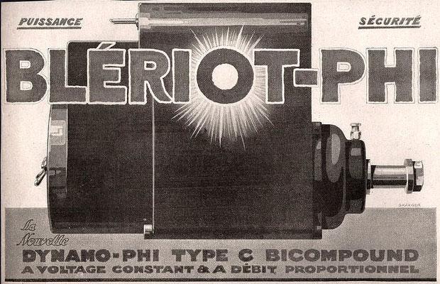 Advertentie Blériot, 1919