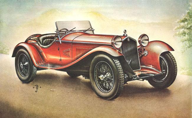 Alfa Romeo 8C, 1932.