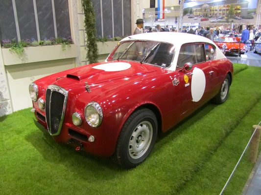 Een Lancia op de Techno Classica in Essen.