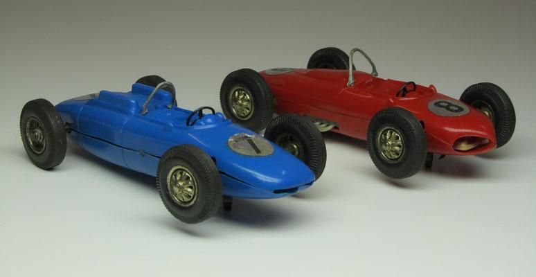 Auto's voor een autoracebaan.