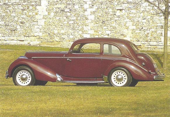 Een Hotchkiss 20 CV GS (1938-1950).