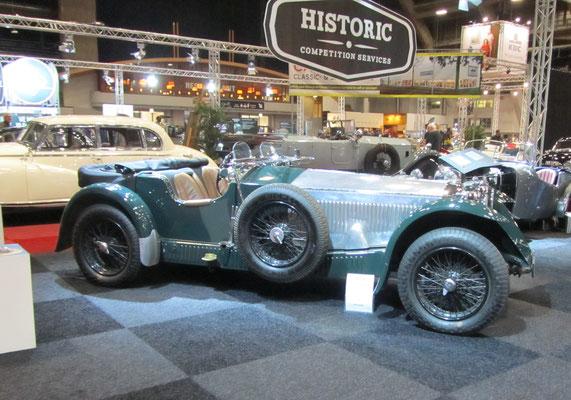 Invicta 4.51 S-Type uit 1931. (Interclassics Brussels 2018)