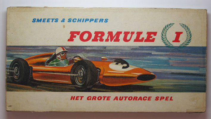 Formule 1. Het Grote Autorace Spel. Uitgave: Smeets & Schippers.