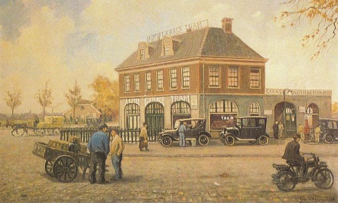 In 1912 liet de Drentse Automobielhandel en Garage-onderneming een garage met toonzaal bouwen aan de Hengelosestraat in Enschede. Enkele jaren later  vestigde zich in dit pand de Twentsche Rijwiel-, Auto- en Motorenhandel van de gebroeders Roeloffzen.
