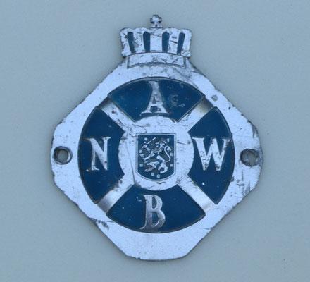 Lichtmetalen ANWB embleem.