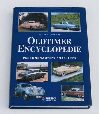 Oldtimer Encyclopedie. Personenauto's 1945-1975. Rob de la Rive Box, 1998. Dit boek is te koop, prijs € 5,00 email: automobielhistorie@gmail.com