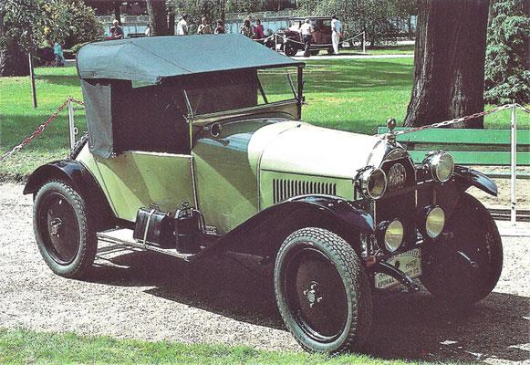 Mathis 6 HP Type P (1922-1926).