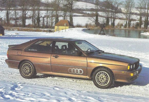 Audi Quatro (1980-1988).