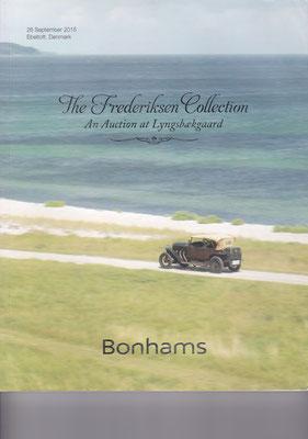 Veiling catalogus Bonhams uit 2015, The Frederiksen Collection, Ebeltoft, Denmark.