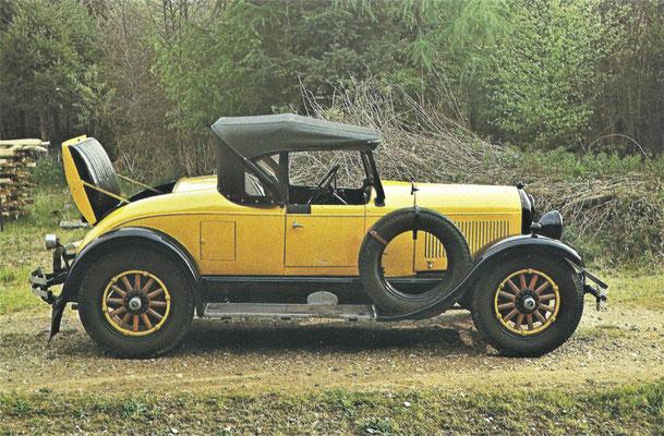 Chrysler 70 uit 1926.
