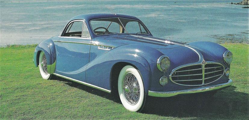 Delahaye 235 met een carrosserie van Philippe Charbonneaux.