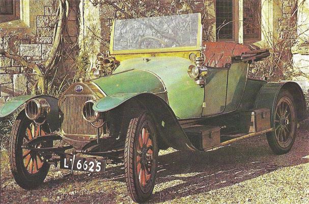 DFP model 12-15 CV uit 1913.