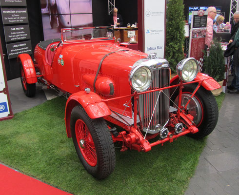 Een Lagonda op de Techno Classica in Essen.