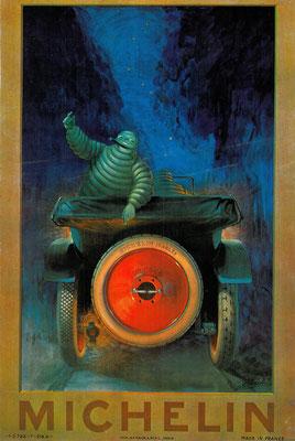 Een affiche ontworpen door A. Philibert in 1919.