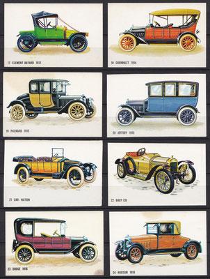 Plaatjes uitgegeven door Bolletje (beschuit) 17 t/m 24.