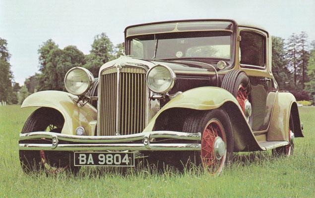 Chrysler coupé uit 1931.