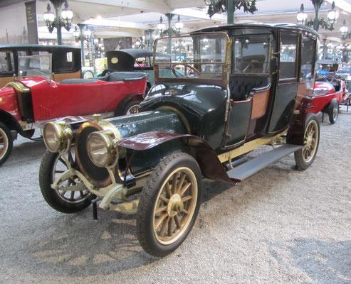 Delaunay Belleville Coupé-Chauffeur Type HB6 uit 1912 (Collection Schlumpf).