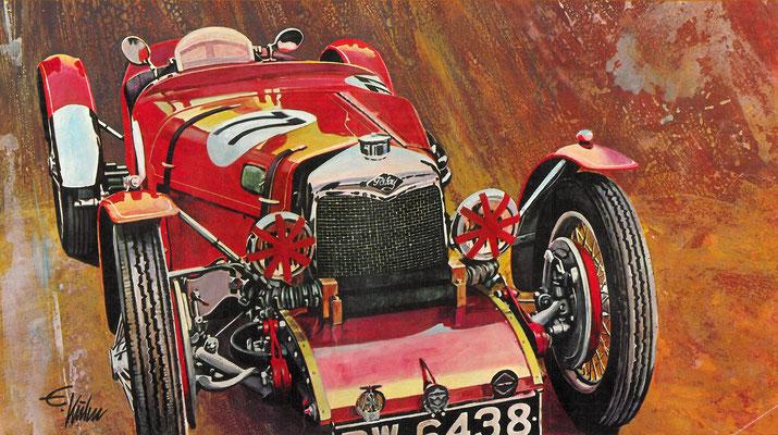 Riley Brooklands uit 1929.