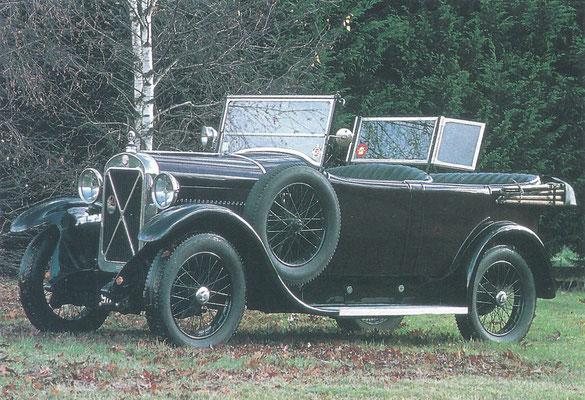 Een Salmson VAL 3  (1922-1928).