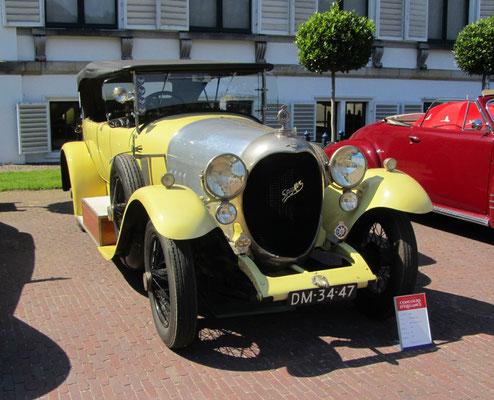 Spyker C4 Torpedo uit 1921. (Concours d'Elegance Paleis Soestdijk 2019)