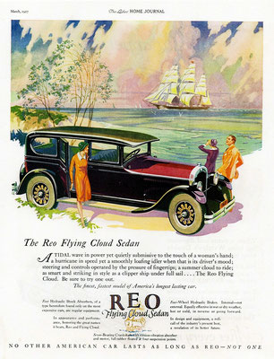 Advertentie REO Flying Cloud