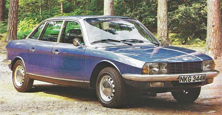 NSU Ro80 uit 1967.
