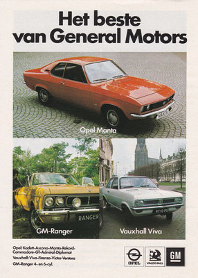 Advertentie General Motors uit 1972.