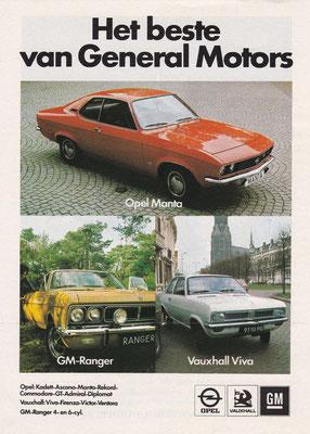 Advertentie General Motors uit 1972.
