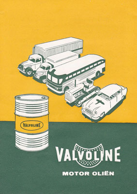 Folder Valvoline.