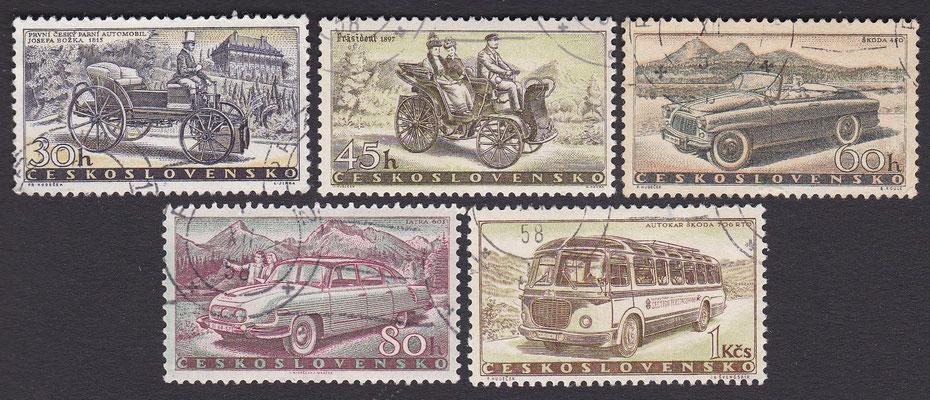 Postzegels Tsjecho-Slowakije.
