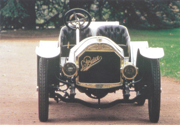 La Buire 12 HP Runabout uit 1911.