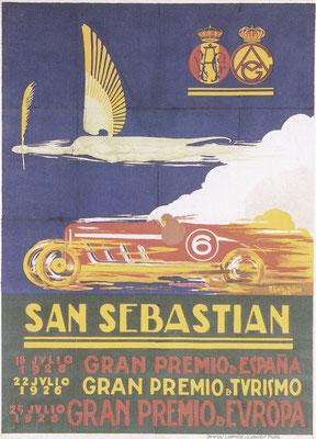 Het Spaanse San Sebastian-circuit in Baskenland werd in 1923 in gebruik genomen.