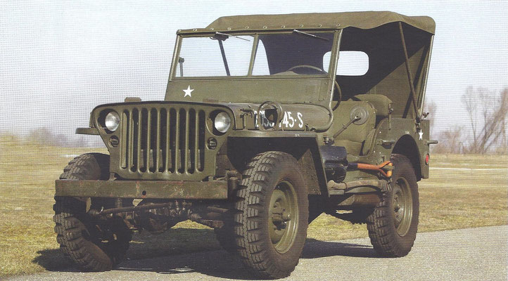 Een Willys Jeep model MB uit 1944.