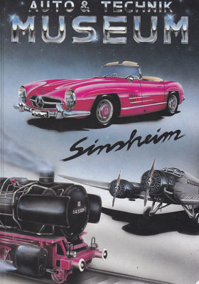 Catalogus Auto & Techniek Museum Sinsheim (Duitsland).