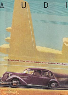 Reclame van Audi voor het type 920.