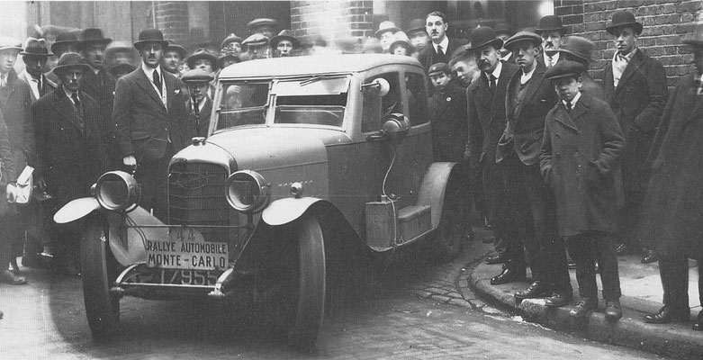 Imperia Monte Carlo rallyauto uit 1928.